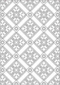 Dover Creative Haven Ornamental Designs Coloring Book (4)