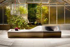 Dune. Outdoor, modular furniture system by Rainer Mutsch.