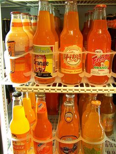 Orange Pop at a candy store in Seaside, Oregon