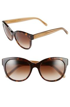 Burberry+54mm+Sunglasses+available+at+#Nordstrom