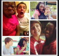 Fun loving young interracial couple #love #wmbw #bwwm