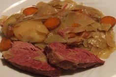 Corned Beef and Cabbage - Crock Pot. Photo by Peter J