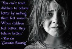 When children feel better, they behave better. So learn Child Whispering!