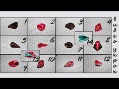 ▶ Мастер класс Виды Круглых Лепестков Канзаши (14 вариантов) / Petals Kanzash - YouTube