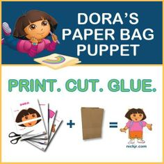 dora craft ideas | ... paper bags lying around? Turn them into ... | Craft Ideas for t