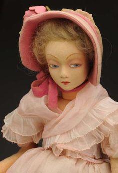 vintage felt Lenci Doll