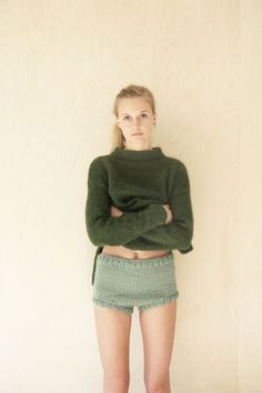Beautiful editorial, girl, jumper. model shot. cool outfit. green jumper. fashion editorial. green sweater.