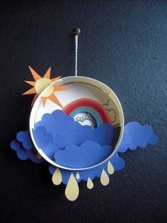 diorama simple excerpts and pictures lay out to a . - diorama simple excerpts and pictures lay out to a … – Baby deco – work ideas – - Spring Crafts For Kids, Fun Crafts For Kids, Creative Crafts, Diy For Kids, Diy And Crafts, Creative Kids, Creative Ideas For Art, Diy Paper, Paper Crafts