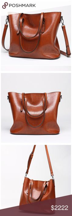 ‼️COMING SOON Tan Leather Slouch Handbag ‼️ ‼️PLEASE LIKE THIS LISTING TO BE NOTIFIED WHEN THEY ARRIVE‼️‼️ Bags