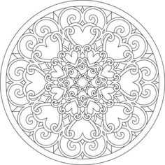 Mandala is known worldwide symbol of universe and it is mostly known in Indian regions. I think that mandala coloring pages are more for adults than they are for kids. Please see below for some of the best mandala coloring pages. Adult Coloring Pages, Abstract Coloring Pages, Mandala Coloring Pages, Printable Coloring Pages, Colouring Pages, Coloring Sheets, Coloring Books, Mandalas Drawing, Mandala Art