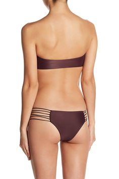 Carmel Knot Bandeau Bikini Top