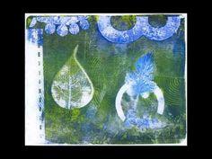 BAR Workshop - Gelli Arts Gel Plate Prints.  Read More - http://gelliarts.blogspot.com/2011/07/gelli-up-to-bar.html
