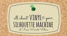 Vinyl tips for your Silhouette
