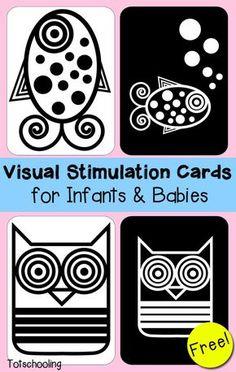 Visual Stimulation Cards for Infants & Babies                                                                                                                                                                                 More