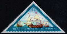 US #4136 Settlement of Jamestown; MNH (1.10)