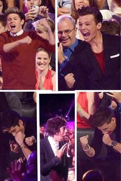 This is the most beautiful thing ever. The boys' reactions to winning; <3