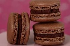 A Chocolate Macaron takes two chocolate and almond flavored meringue cookies and sandwiches them together with a delicious chocolate ganache. From Joyofbaking.com With Demo Video