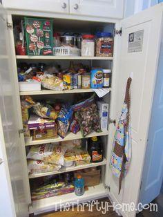 Merveilleux *The Thrifty Home: Deep Pantry Organization