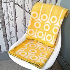 soft woven lambswool blanket by hokolo | notonthehighstreet.com