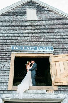 Gorgeous barn venue in Maine. // The Maine Tinker