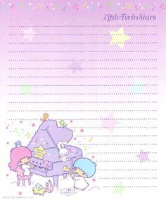 Little Twin Stars Memo Pads Memo Paper 350 Sheets