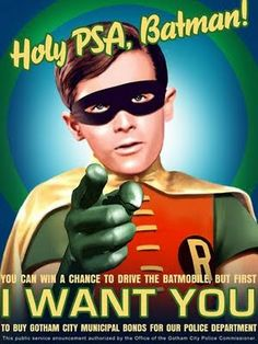 Holy PSA, Batman! #Robin