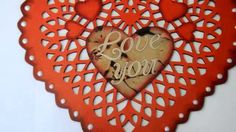 Caderno Coração ❤ Especial Dia dos Namorados