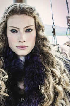 Alyssa Sutherland as Princess Aslaug (Vikings) Costume design by Joan Bergin. Description from pinterest.com. I searched for this on bing.com/images