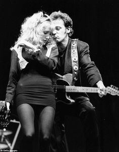 Bruce and Patti, 1987.