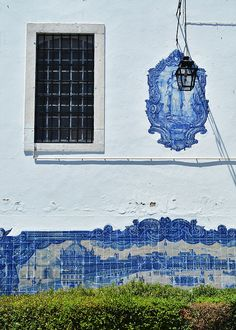 Beautiful tiled homes in Lisbon