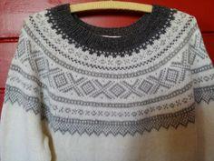 Elisabeth.H hobbyside: Hvit Mariusgenser i 100% ren Alpakka garn. Knitwear, Knit Crochet, Arts And Crafts, Sweaters, Cardigans, Knitting, Pattern, Vests, Norway