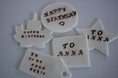 Cake Decorating Edible Plaques : 1000+ images about Plaques on Pinterest Fondant, Name ...