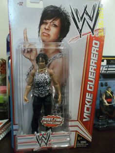 WWE - Vicky Guerrero...caleb & I do not like her lol