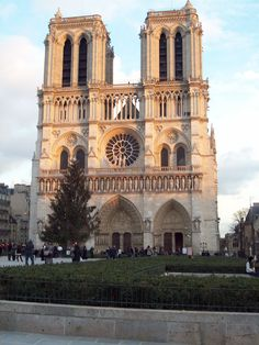 Notre Dame Cathedral; so beautiful!