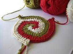 Spiral crochet-crochet-crochet