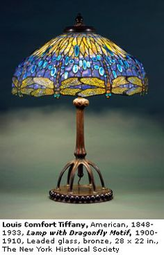 Tiffany lamp-Stunning lamp! Love the dragonflies!!