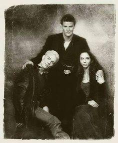 Angelus, Spike and Drusila .BTVS.