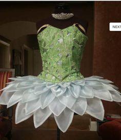 Pale green flower tutu by A. Jolan Ballet                                                                                                                                                                                 More