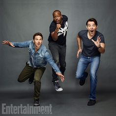 Comic-Con 2016 Star Portraits: Day 3 | Matt Lanter, Malcolm Barrett, and Goran Visnjic, 'Timeless' | EW.com