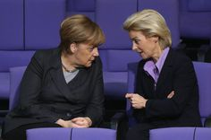 German Chancellor Angela Merkel and Defense Minister Ursula von der. Ursula, Security Conference, Executive Woman, Military Intervention, Smart Women, Pictures Of The Week, Us Presidents, Berlin Germany, Munich