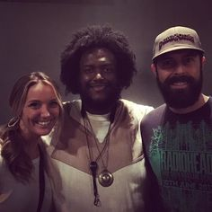 A photo with my honeybear & #KamasiWashington @KamasiW from the show in #SLC a few weeks ago. Mind=Blown #livemusic