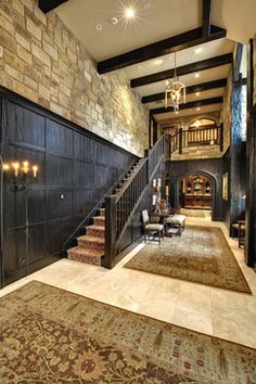 River Ranch, Summit County, CO - traditional - staircase - denver - Gunson Custom Mountain Architects