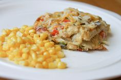 KING RANCH CHICKEN CASSEROLE - was pretty simple and good! But I'm sure its not very good for you...