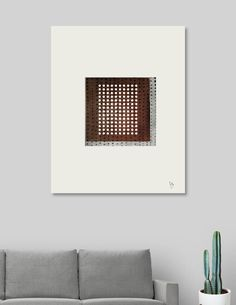 Discover «Abstract brown and grey», Limited Edition Canvas Print by Ulug Doschan - From $59 - Curioos