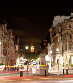London, down Whitehall