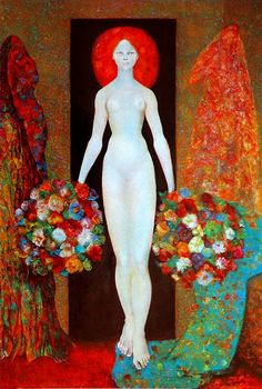 Leonor Fini- This Surrealist Argentine painter always fascinated me. Max Ernst, Women In History, Art History, Figurative Kunst, Illustrations, Art Plastique, Painting & Drawing, Contemporary Art, Art Gallery