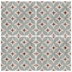 Tile Decals - Tiles for Kitchen/Bathroom Back splash - Floor decals - Encaustic Carreaux Ciminent Stellar Vinyl Tile Sticker Pack color Grey by QUADROSTYLE on Etsy https://www.etsy.com/listing/253744895/tile-decals-tiles-for-kitchenbathroom