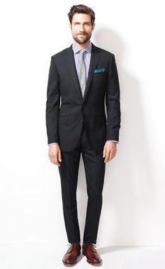 J. Crew Ludlow Suit in Italian wool