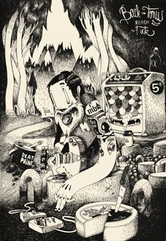 Les illustrations déjantées de Matthieu Bessudo aka Mc Bess