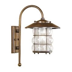 $293 volume pricing (antique green Diameter:8.27 inches Height:3 feet 1.01 inches Projection:11.42 inchesLustrarte 1010-0-77 Grelha Outdoor Sconce